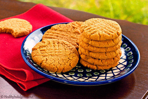 Healthier Peanut Butter Cookies (Gluten-Free, Low Carb)