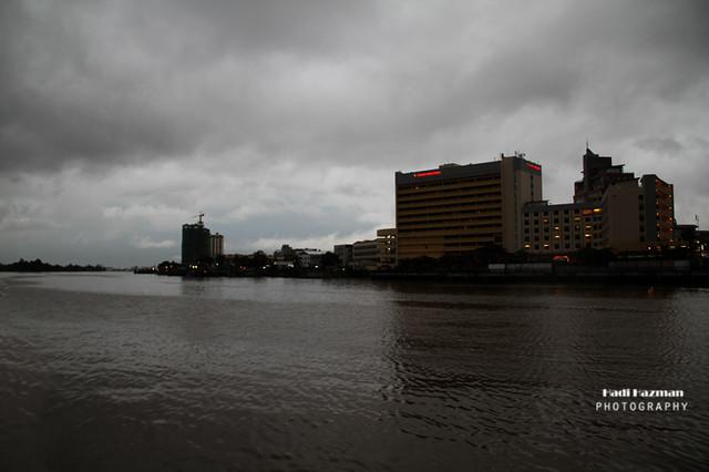 Beside sarawak river