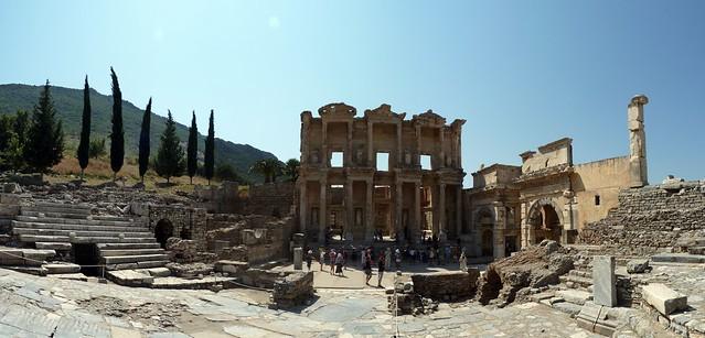 Ephesus Library 1 stitch