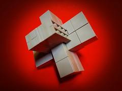 Burr 3D Cross Puzzle