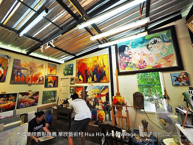 泰國華欣景點推薦 華欣藝術村 Hua Hin Artist Village 35