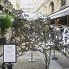 Impressive #RichardOrlinski sculptures at the #VillageRoyal in #Paris. #art #parisian #seemycity #seemyparis #seulementparis #hello_paris #bonjourparis #loves_paris #thisisparis #visitparis
