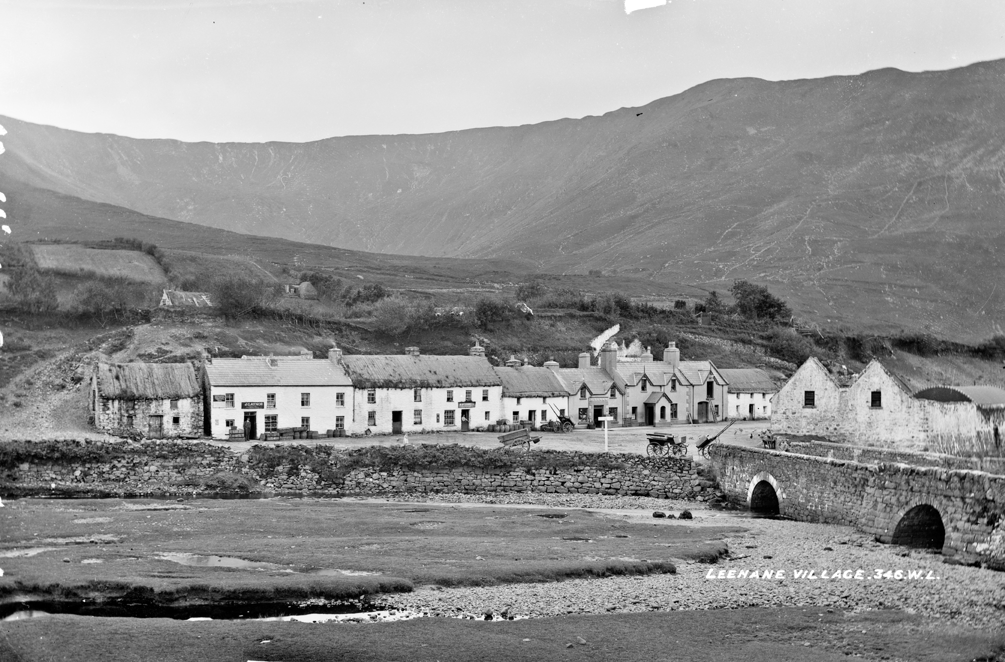 Village of Leenane, County Galway