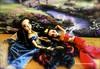 Jasmine LE & Jasmine Slave Repaint full Reroot Hair dolls - Disney Store Aladdin