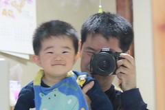 とらちゃんとお父さん(2012/4/21)