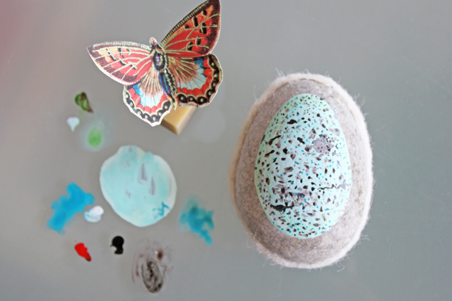 Egg & Butterfly