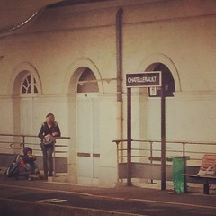 Dans l'omnibus Paris Bordeaux... - Photo of Senillé