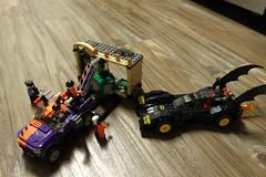 Batmobile and the Two-Face Chase
