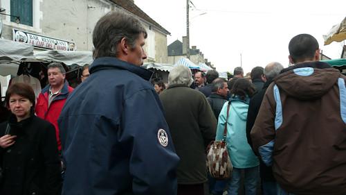 France, market in Les H?©rolles