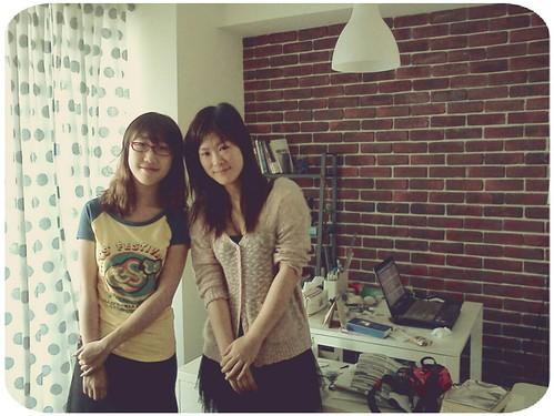 短暫的相聚 ::: 王蔥和張璘要回上海了... by 南南風_e l a i n e