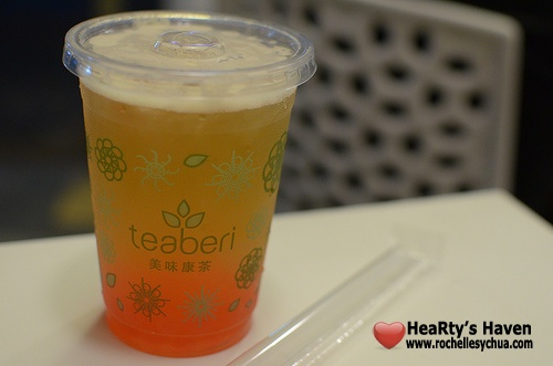 teaberi lemon squeeze with bubble pop