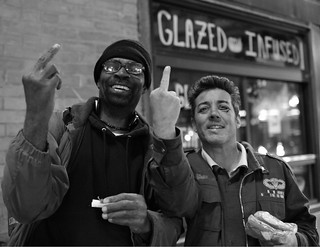 Glazed and Infused ~ Making New Friends on the Street