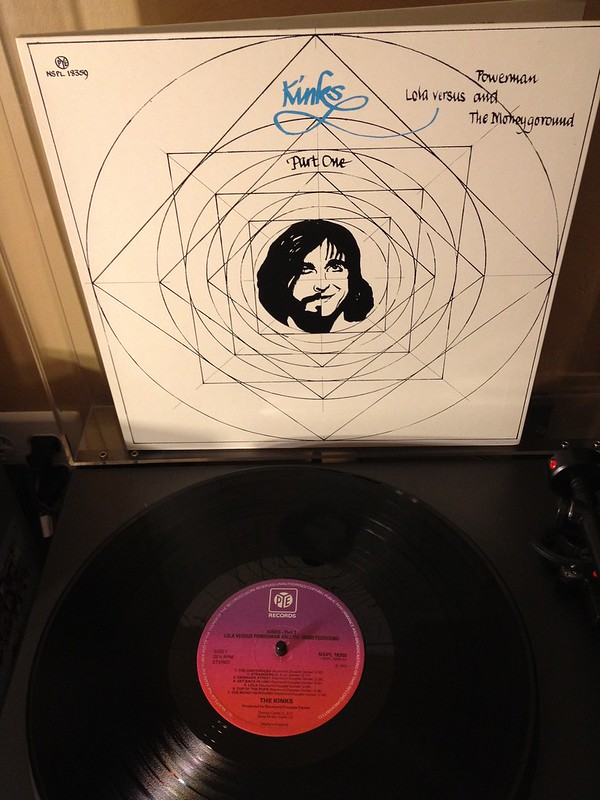 Preferred Vinyl Pressing Of Kinks Lp Quot Lola Versus Powerman