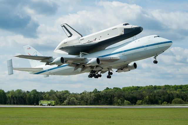 Shuttle Enterprise Flight To New York (201204270019HQ)