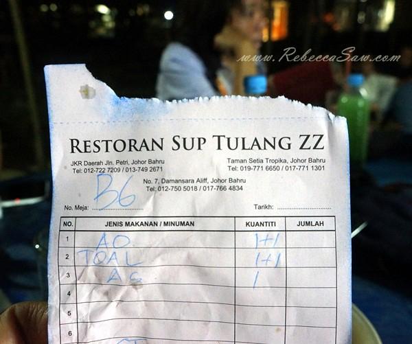 Restoran ZZ Sup Tulang, Johor bahru-005