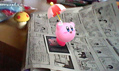 Kirby reads the comics