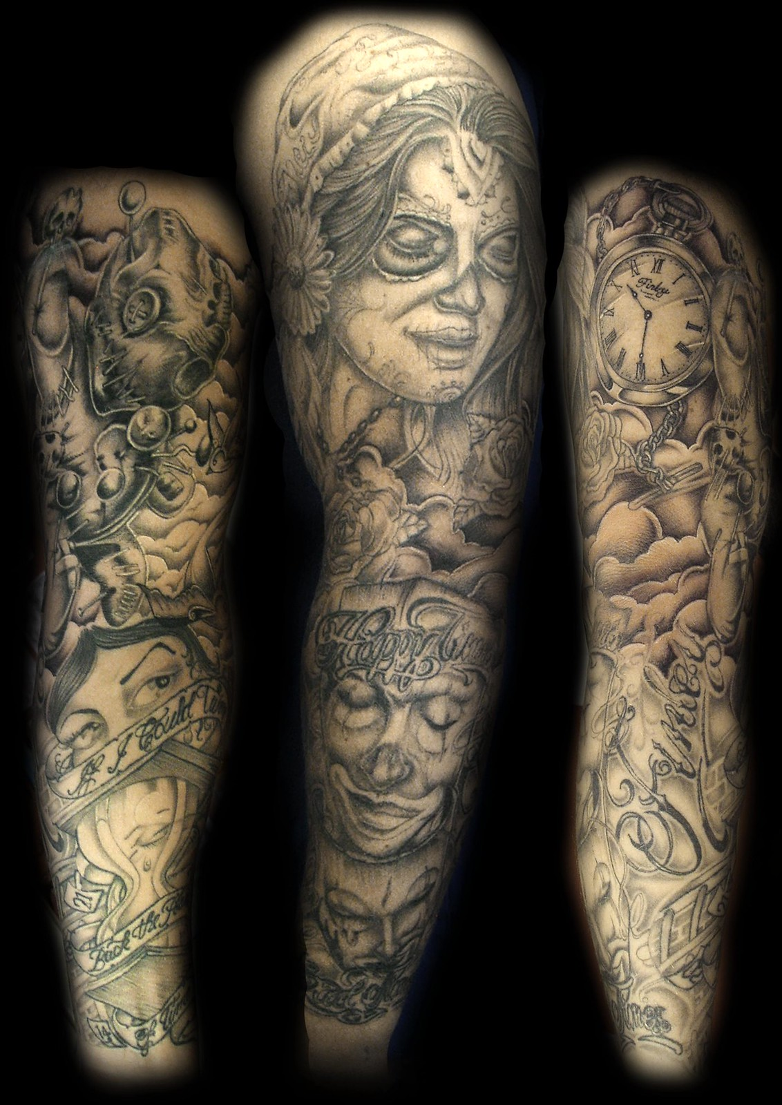 Marilyn Manson Tattoos