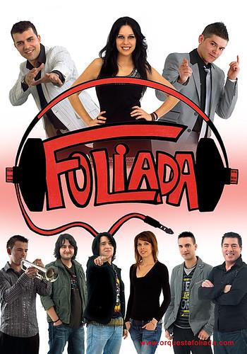 Foliada 2012 - orquesta - cartel