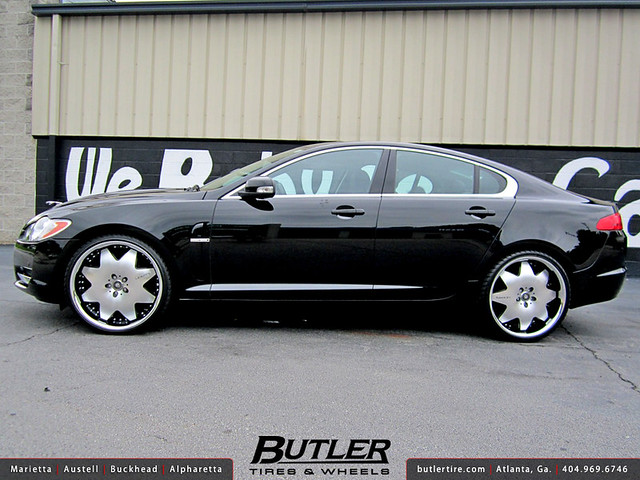 Jaguar XF with 22in Lexani LX2 Wheels