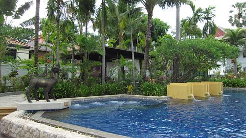 Koh Samui Kandaburi Resort beachpool サムイ島カンダブリリゾート (2)