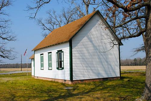 historic delaware schoolhouse oneroomschoolhouse sussexcountyde godwinsschooldistrict190