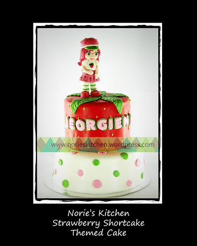Norie's Kitchen - Strawberry Shortcake Cake by Norie's Kitchen