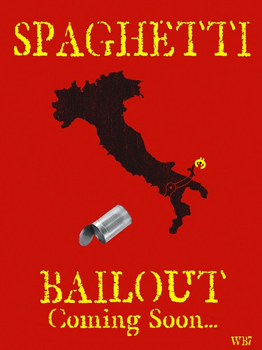 SPAGHETTI BAILOUT by Colonel Flick