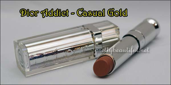 Dior Addict Lipstick - Casual Gold