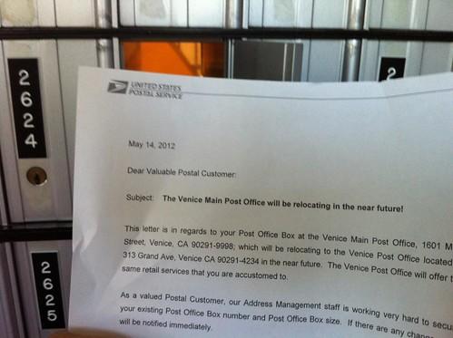 Venice Post Office