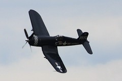 2012 Smyrna Air Show: F4U Corsair with Dave Folk