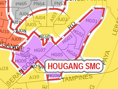 Hougang SMC Boundary 2011