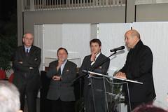 Le Drian, Chesnais-Girard, préfet nov 11 mairie Liffré
