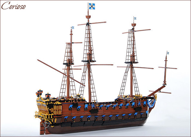 custom lego pirate ship instructions