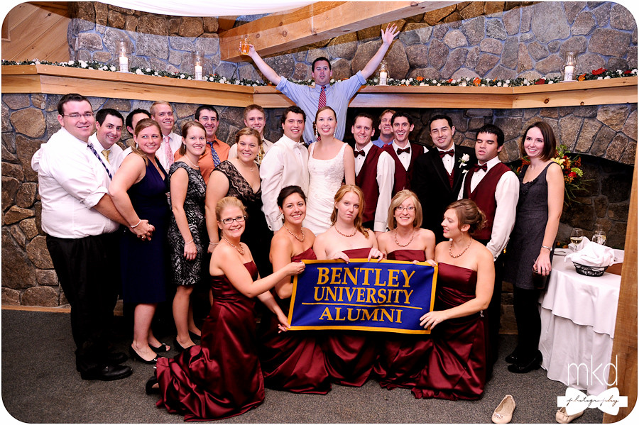 Bentley University Alumni Wedding Photo - Jen & Brandon's Wedding 10/1/2012