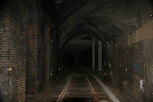 Railway tunnels underneath Smithfield Meat Market