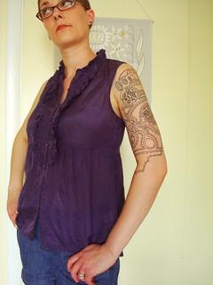 Sewing notions half-sleeve 2