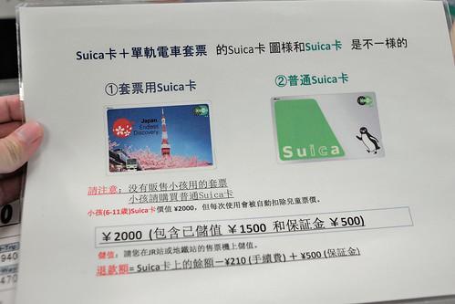 外國人限定的套票用Suica卡