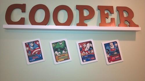 Coop's artwork