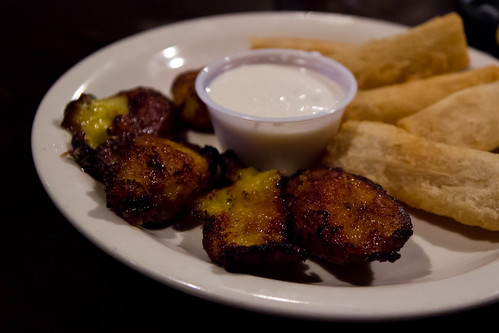 Sweet Plantains and Yucca Fries at Bella Habana