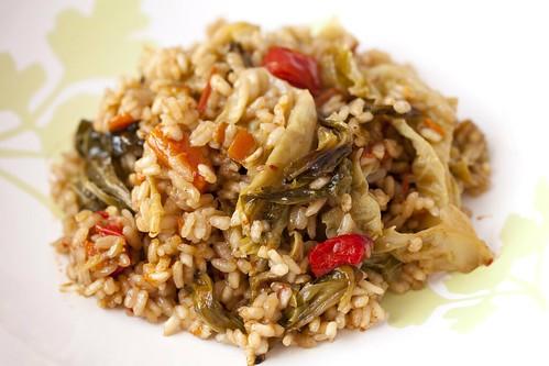 Arròs sec amb col 1
