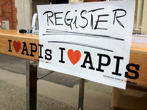 I love APIs