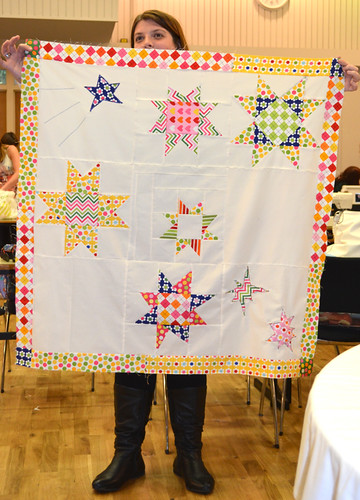 Fat Quarterly Retreat - Iron Woman Quilt and Heather