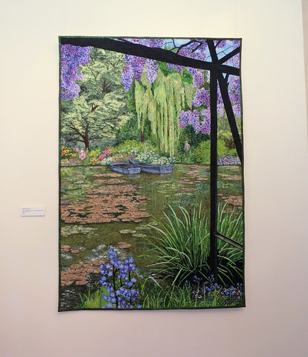 Lenore Crawford - Monet's Lily Pond - 2010