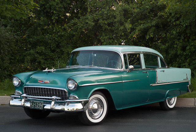 1955 chevrolet bel air 4 door sedan flickr photo sharing for 1955 chevy bel air 4 door
