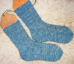 Jubilee socks detail
