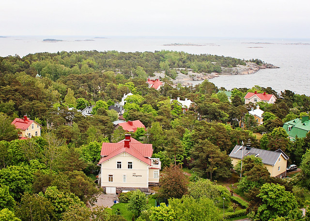 Hanko from tower