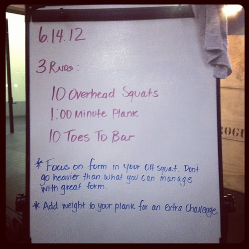 Almost forgot today's #wod. #crossfit