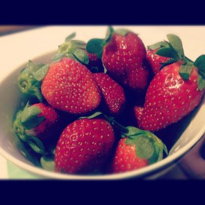 Instagram: Strawberries