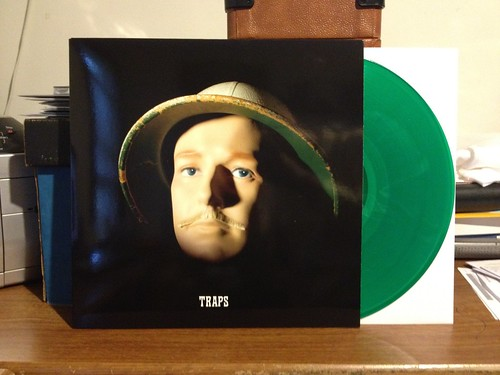 Jaill - Traps LP - Green Vinyl by Tim PopKid
