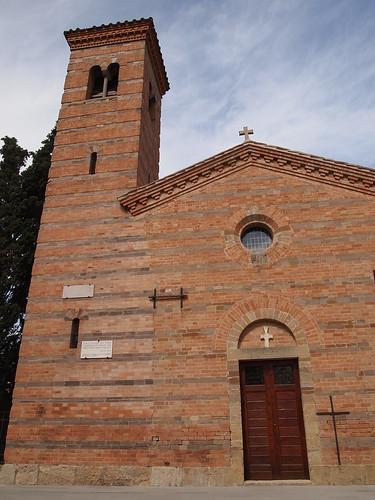 Facciata Pieve Pieve di San Donato in Polenta